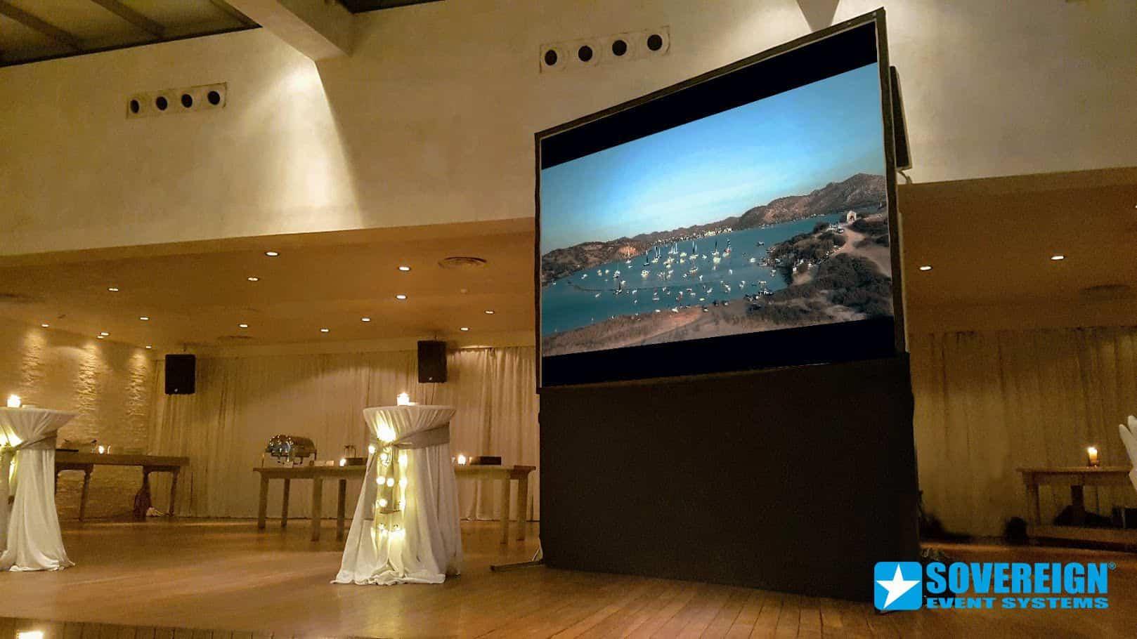 Ενοικίαση πανιού projector 3x2m Rear- Οπίσθιας προβολής