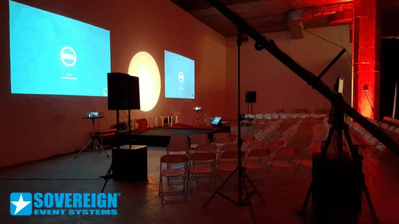 TEDX ΕΝΟΙΚΙΑΣΗ ΠΑΝΙΩΝ ΚΑΙ ΒΙΝΤΕΟΠΡΟΒΟΛΕΩΝ - SOVEREIGN EVENT SYSTEMS