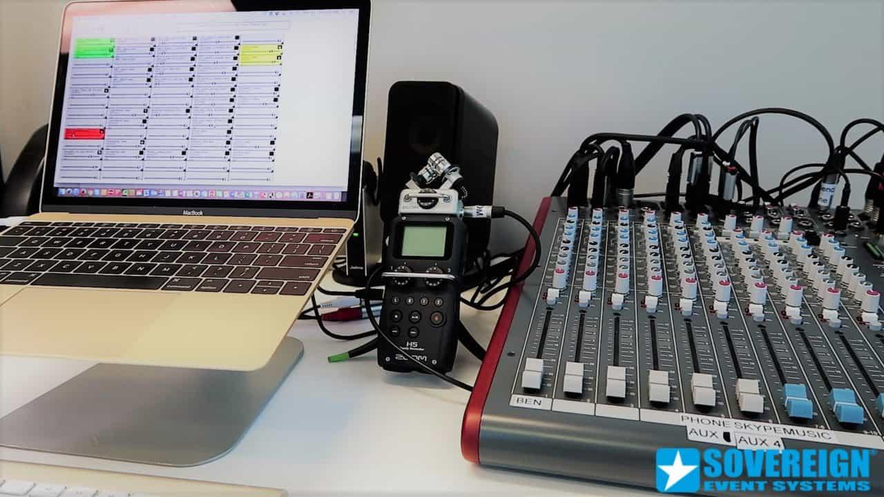 Βιντεοσκόπηση-μαγνητοφώνηση παρουσιάσεων και συνεδρίων