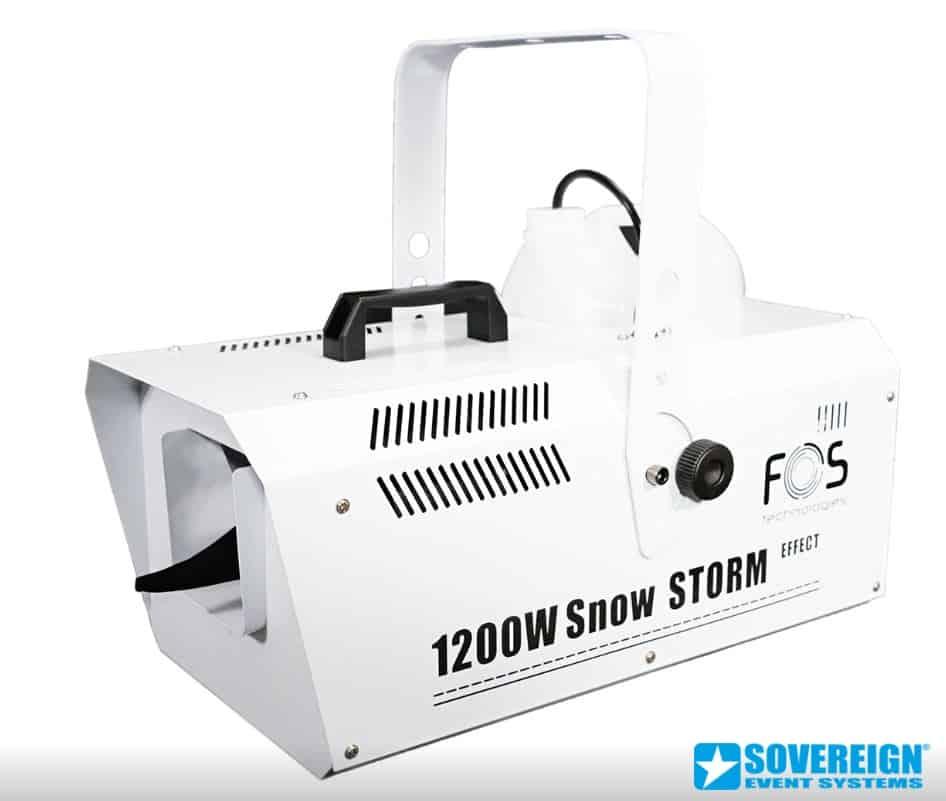 Ενοικίαση μηχανής χιονιού 1200 watt. Ενοικίαση snow machine