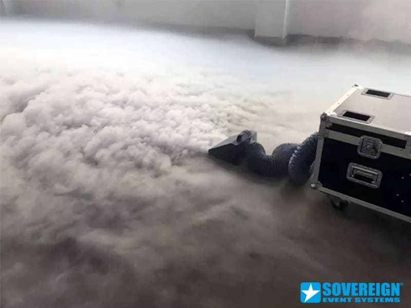 Μηχανή τεχνητής ομίχλης low fog