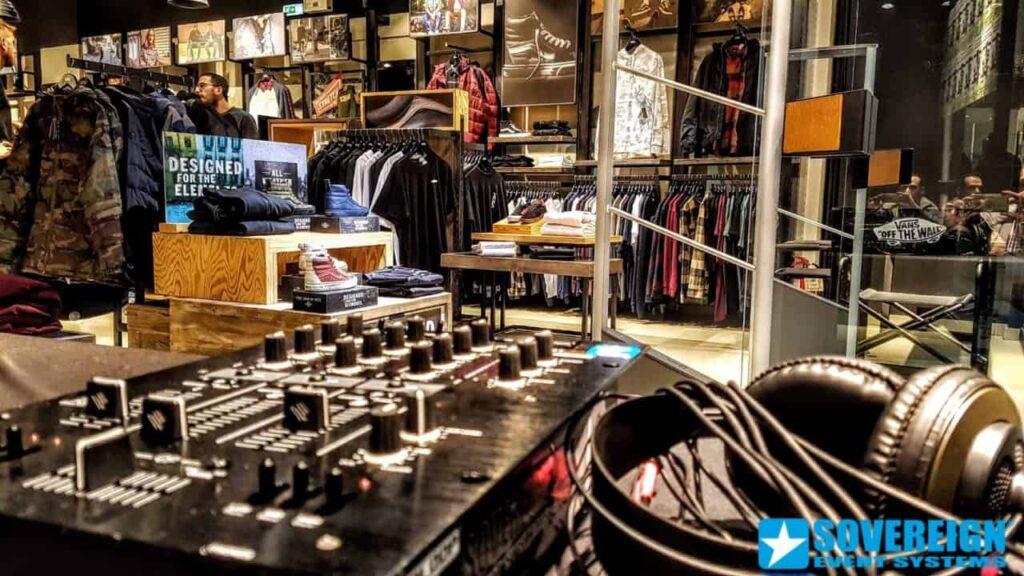 ηχητικη καλυψη σε καταστήματα