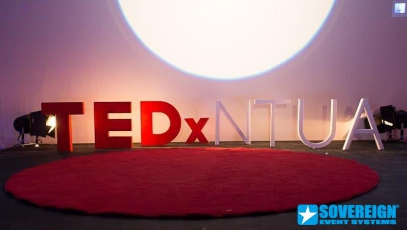 ΕΝΟΙΚΙΑΣΗ ΠΑΝΙΩΝ ΚΑΙ ΒΙΝΤΕΟΠΡΟΒΟΛΕΩΝ - SOVEREIGN EVENT SYSTEMS TEDX
