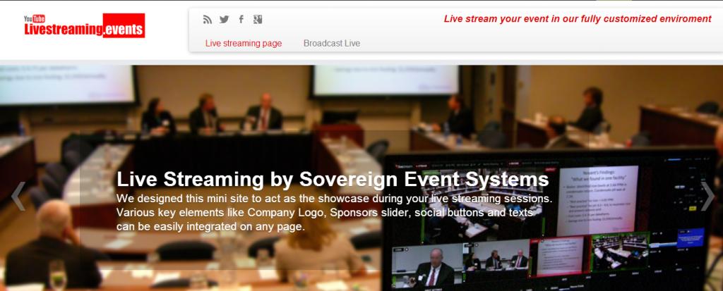ζωντανή μετάδοση συνεδρίου | live streaming