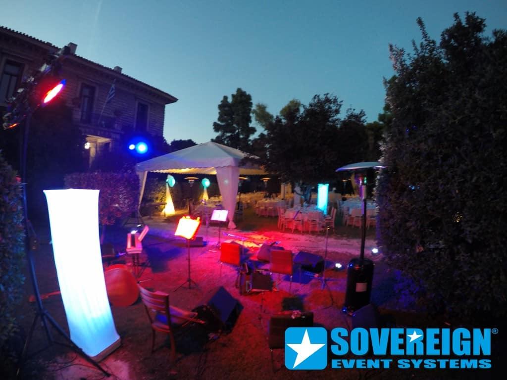 Φωτισμός εκδήλωσης Φωτισμός γάμου Διακοσμητικός φωτισμός Φωτισμός Εκδηλώσεων & Συνεδρίων