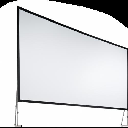 'Ενοικίαση σετ projector FULL HD και πανιού έως 350 θεατές